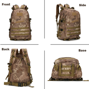 Image 2 - 1000D Nylon 40L Backpack For Men Women Camouflage Army Bags Mochila Militar Bags Casual Travel Waterproof Bags