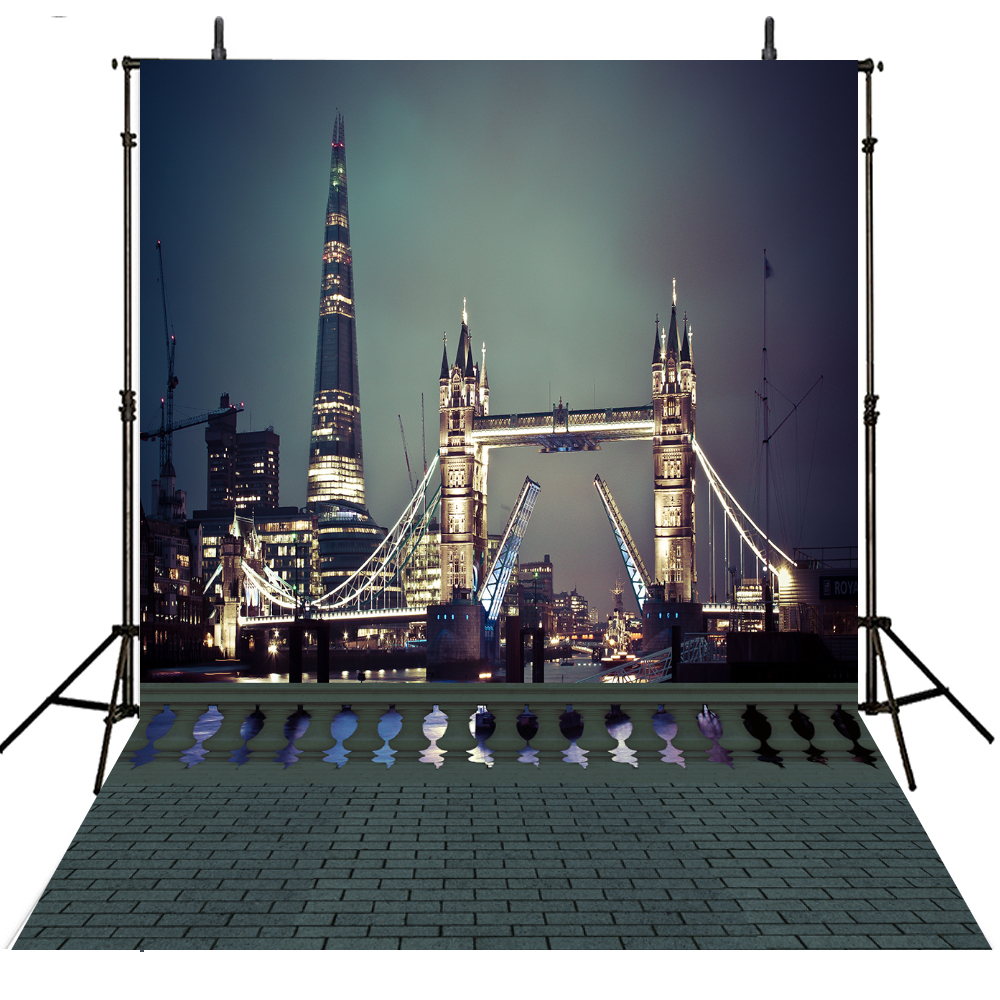 City Scenic Photography Backdrops Vinyl Backdrop For Photography Foto Achtergrond Party Background For Photo Studio Photocall