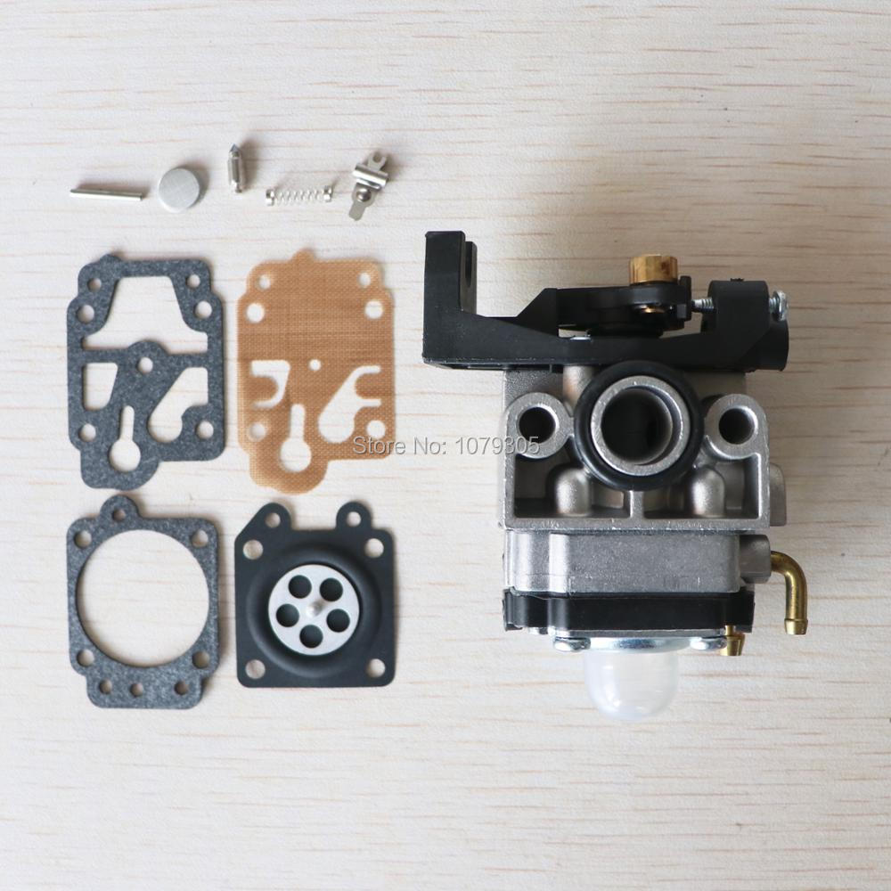 Carburetor For GX35 GrassTrimmer Engine Lawn Mower Brush Cutter Spare Parts With Repair Kits