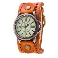 Men Watch 2017 Unique CCQ Luxury Brand Vintage Leather Watch Men Women Wristwatch Ladies Dress Quartz
