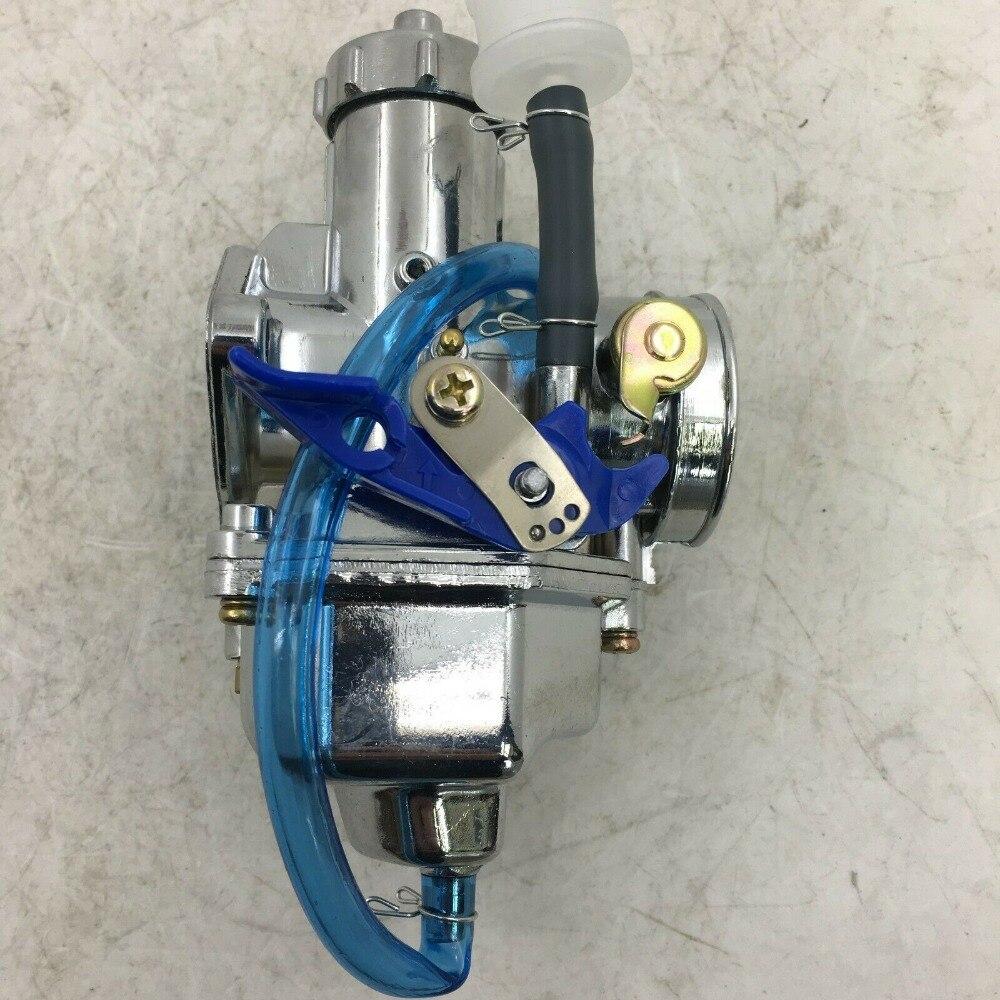 Carburateur sherryberg carb carburateur carby carburateur chromé haute qualité PZ30 pompe d'accélération 200cc 250cc Dirt Bike ATV