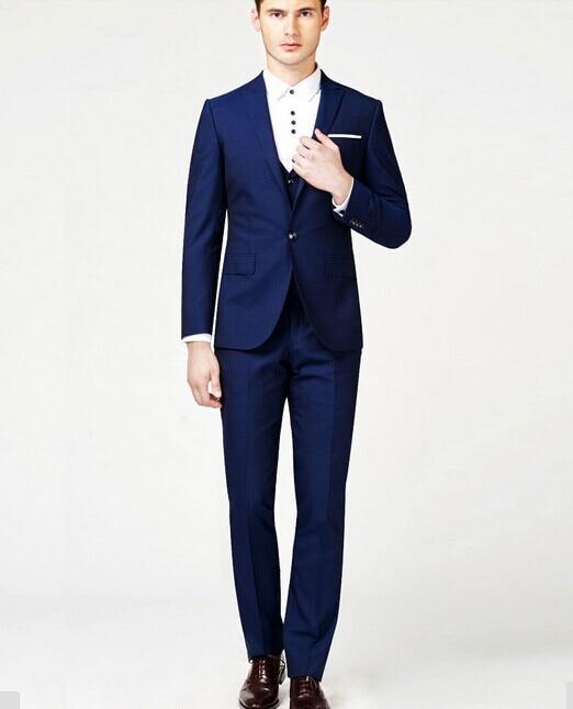 Aliexpress.com : Buy Men Suits 2015 Royal Blue Mens Suit M 0557