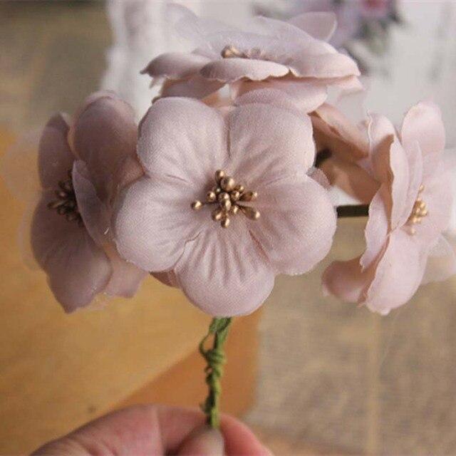 Aliexpress.com : Buy 5cm Head,60Pieces Fake Cherry Blossom ...