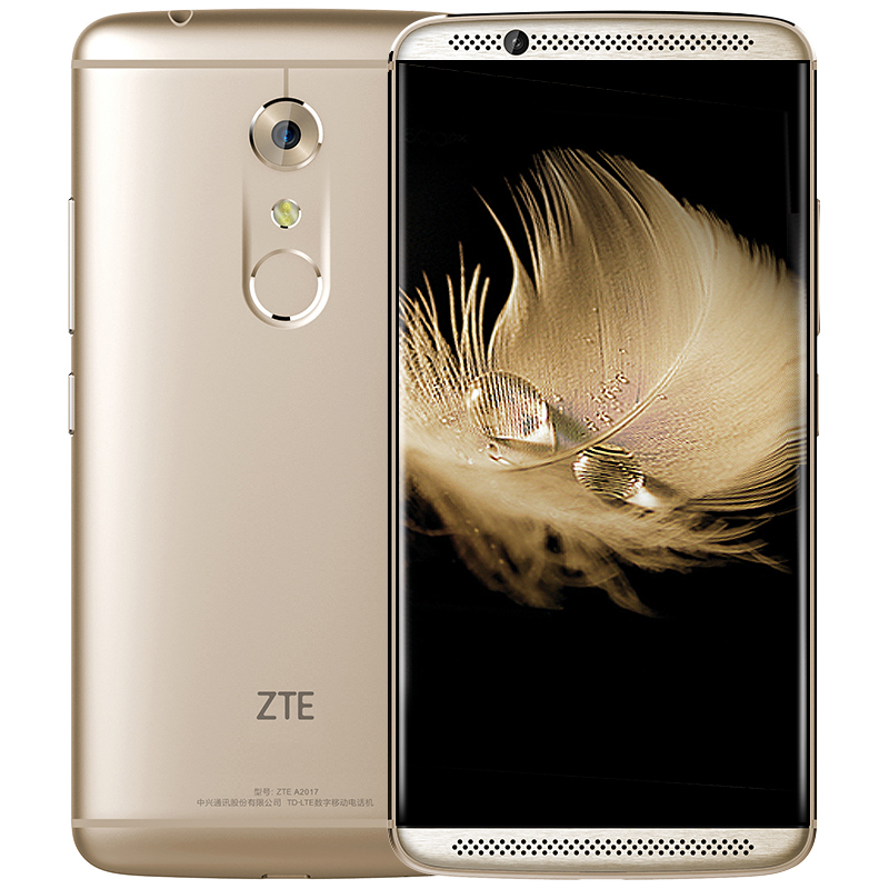 """Original ZTE Axon 7 4G LTE Smart Phone Snapdragon 820 Android 6.0 5.5"""" 2K 2560X1440 6GB RAM 128GB ROM 20.0MP Force Touch NFC"""