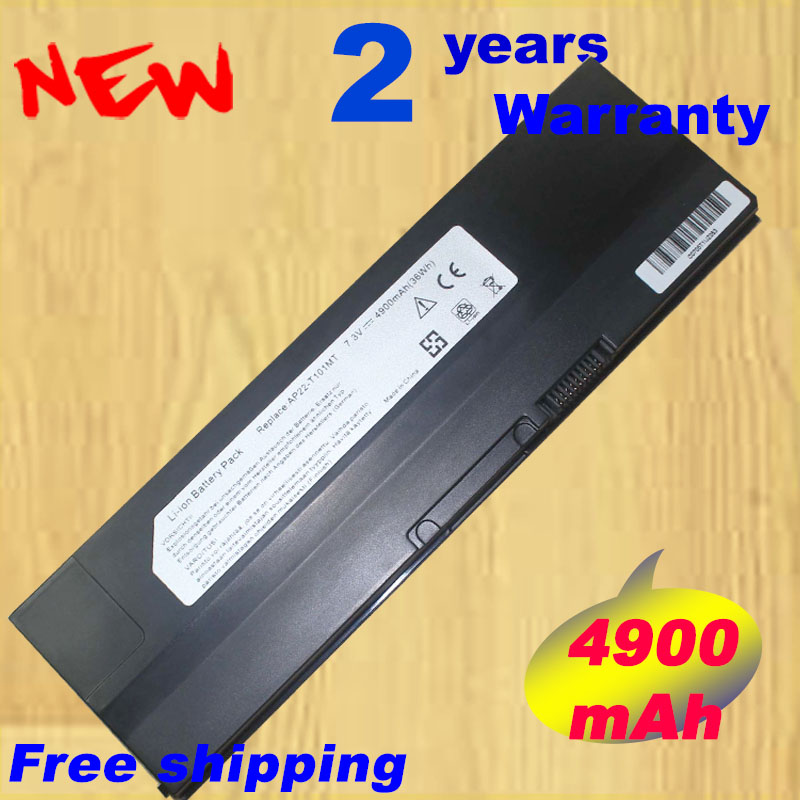 7.3V 35wh / 4900mah Laptop battery For ASUS Eee PC T101 T101MT 90 0A1Q2B1000Q AP22 T101MT Notebook battery-in Laptop Batteries from Computer & Office
