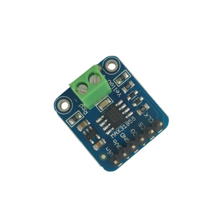 MAX31855 K-type thermocouple module Pinboard 1350C SPI connector digital&readable adapter plate distinguishability input 3-5v