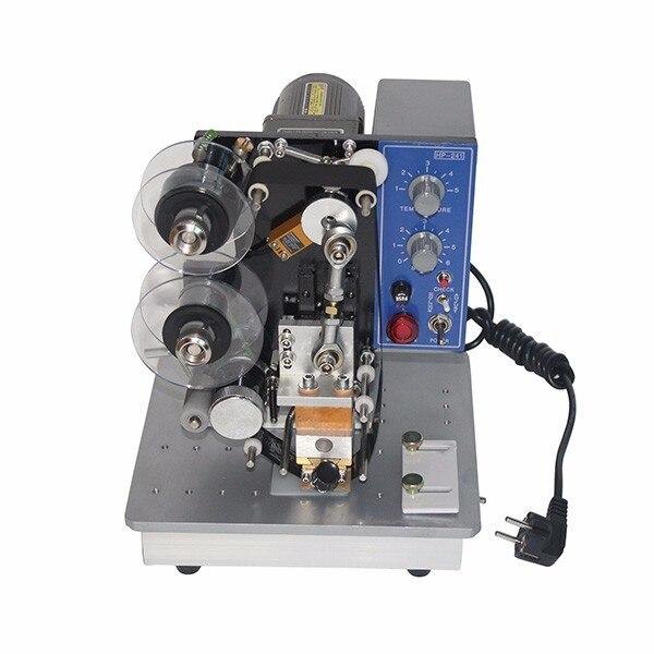 Machine de codage de numéro de lot de bande de couleur électrique, machine de codage de date manuelle