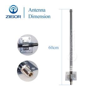 Image 3 - 868MHz 915MHz חיצוני Omni אנטנת בסיס תחנת תעשייתי נתב Dual Band פיברגלס Antena גבוהה רווח N נקבה Z161 G900NK60
