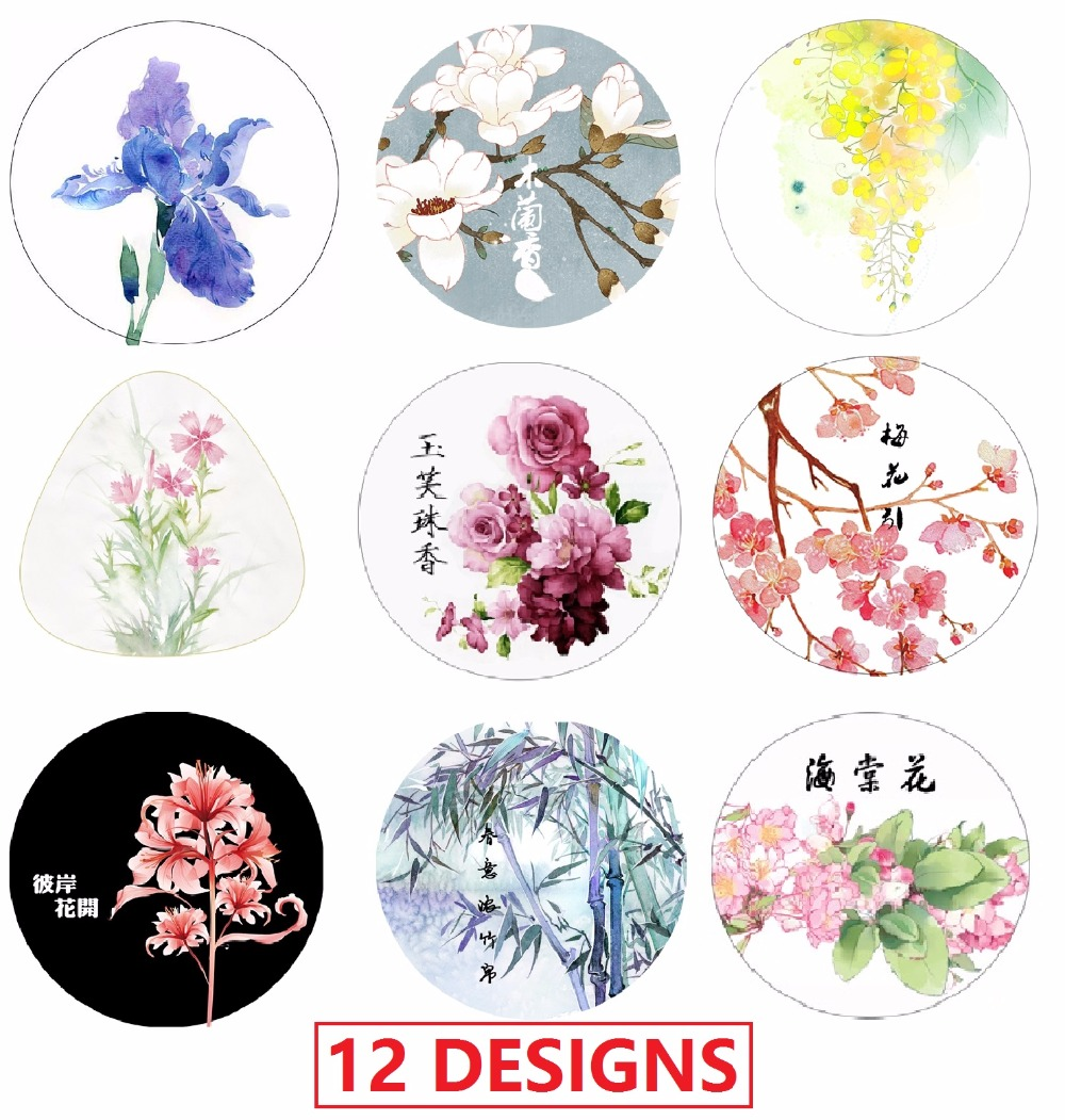 16Designs NEW! 20/50mm*10M Flowers/Rose/Butterfly/Cake Pattern Japanese Washi Decorative Adhesive DIY Masking Paper Tape Sticker guilin guangxi hong source specialty rose flowers cake 240g6 gold handmade flower cake pastry boxed 2 boxes