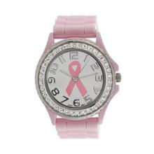 Watch Women Clock New Girl Crystal Cancer Dial Quartz Analog Silicone Band Best Wrist Watch Beautiful Comfortable Temperament C5