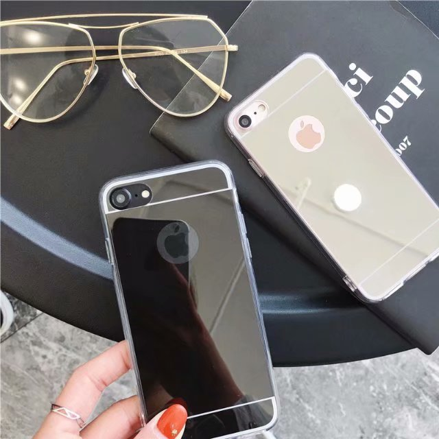 Luxury Mirror Makeup Case For iPhone 11 Pro Max 7 6 6S Plus 5s SE 8 X XS MAX XR 7 8 Plus 5 Transparent Silicone Soft