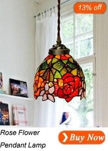 Rose Flower Pendant Lamp