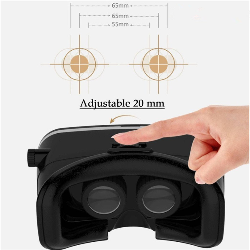 Finewin 2016 Shinecon VR 3D Glasses Helmet Google Cardboard for iPhone Samsung 4.7 to 6 inch Smartphone free shipping