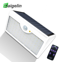 60 LED 5 Modes Remote Control Solar LED Lamp Infrared PIR Motion Sense Waterproof LED Street