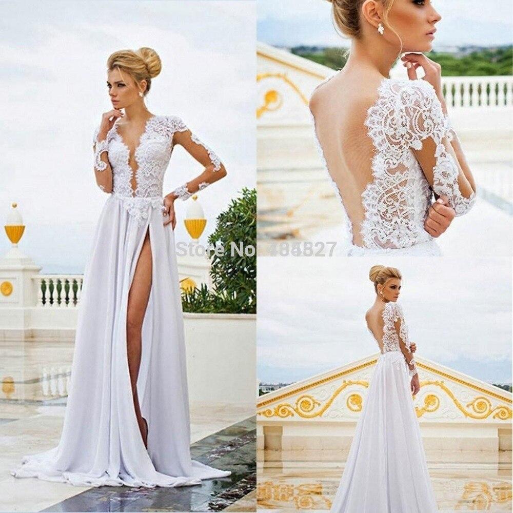 plunging neckline sheath vintage wedding dress lightindreamingcom plunging neckline wedding dress Plunging Neckline Sheath Vintage Wedding Dress LightIndreaming com