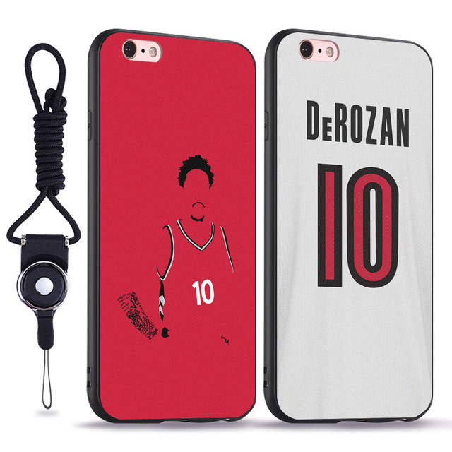 cheap for discount 2c751 ae450 US $3.99 |Demar DeRozan Fashion soft silicone TPU phone case cover Shell  For Apple iPhone 5 5s Se 6 6s 7 8 Plus X XR XS MAX-in Fitted Cases from ...