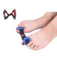 2 Pcs Hot Foot Care Óssea Treinamento Polegar Joanete Splint Correção Hálux Valgo Órteses Separador Dedão do pé Maca Corrector