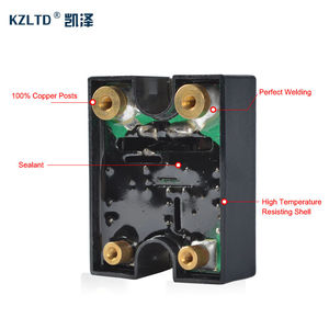Image 4 - SSR 40LA Voltage Regulator Solid State 4 20MA to 28 280V AC Voltage Relay SSR 40A w/Cover relais KS1 40LA Quality Guarantee