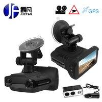 Car DVR Radar Detector GPS 3 In 1 Car Detector Camera Full HD 1296P Speedcam Anti