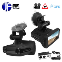 Car DVR Radar Detector GPS 3 In 1 Car Detector Camera Full HD 1296P Speedcam Anti