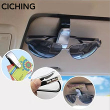 Auto Fastener Card ticket glasses clip for mercedes mazda 3 renault toyota golf 4 opel passat b5 golf 7 for skoda ford focus 3(China)