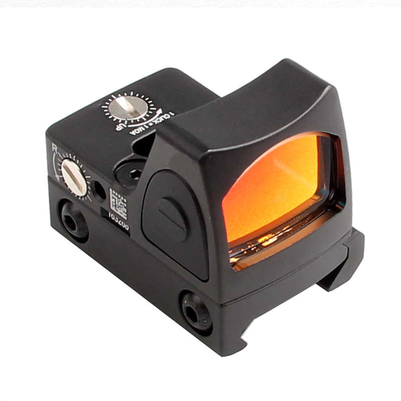 RMR Style Glock Red Dot Sight Collimator Scope Reflex Sight Scope fit 20mm Weaver Rail For Airsoft Hunting Rifle Scope 5-0004-2 цена