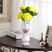 Free Shipping Fashion Table Top Porcelain Vase Office Home Decoration Creative Ornaments for Gift Wedding