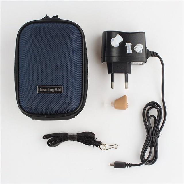 Rechargeable mini hearing aid amplifier ear sound amplifier hearing aids rechargeable hearing aid HE01001