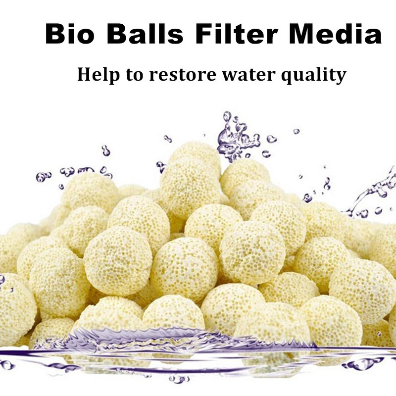 Fish & Aquariums 1.5 Inch All Water Type Soft And Light Pet Supplies 10 Pcs Super Bio Ball Aquarium Filter Accessories Dia
