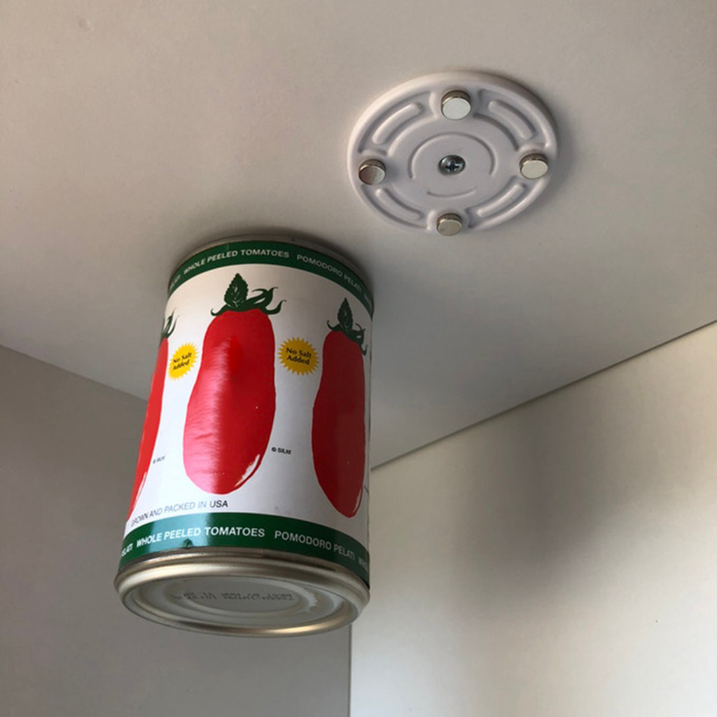 Creative Magnetic Hooks Can Loft Magnetic Canned Food Hangers Save Space In Your Pantry Strong Refrigerator Storage Tool
