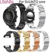 Ремешок из нержавеющей стали для смарт часов suunto core ремешок