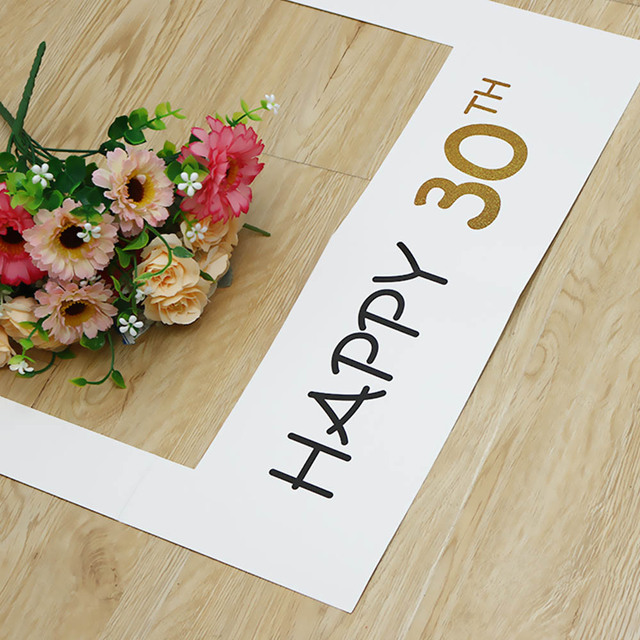 Happy Birthday 30th Photo Booth Props Photo Frame Photobooth ...