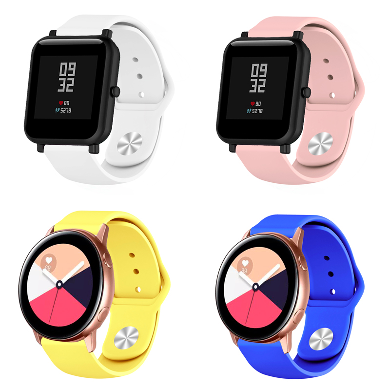 18/20/22mm Smartwatch Band for Samsung/Garmin/Huawei/Apple watch/Motorola/Withings/Amazfit/SUUNTO/Fossil/Ticwatch Universal Band