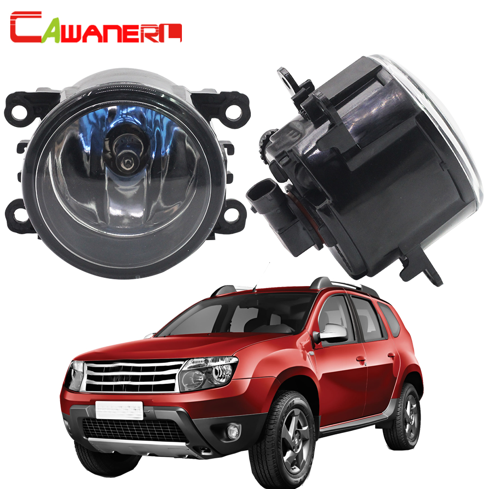 Cawanerl 2 X H11 100W Car Halogen Bulb Fog Light Daytime Running Lamp DRL For Renault Duster Closed Off-Road Vehicle 2012-2015 cawanerl 2 x car led light auto fog light drl daytime running light for lexus rx 450h rx450h awd closed off road vehicle 2008