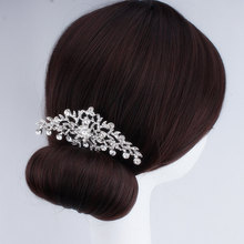 Wedding Hair Accessories For Bride Rhinestone Crystals Jewellery For Women