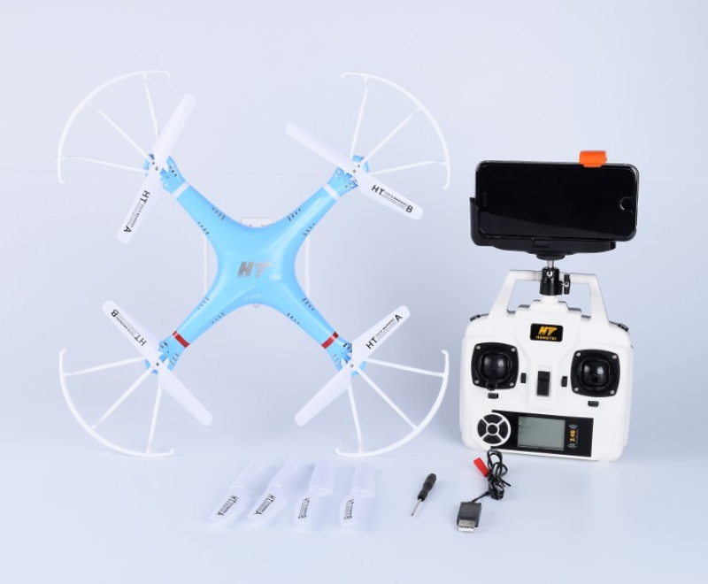 Wifi FPV RC Drone with 1.0MP Camera Real-time Imag 2.4GHz 6-Axis Gyro Remote Control Helicopter Headless UAV RTF For Kids Adult