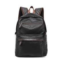 ZENTEII Men's Faux Synthetic Leather Backpack