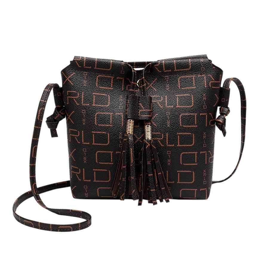 617ef19f32 Detail Feedback Questions about 2018 luxury bag Fashion Women leather bag  New Crossbody shoulder bucket bag Small Messenger bag bolsos mujer on ...