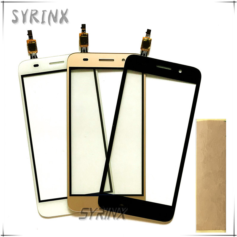 Syrinx With Tape Mobile Phone Touch Screen Digitizer Panel Glass For Huawei Y3 2017 CRO-U00 CRO-L02 CRO-L22 Sensor Touchscreen