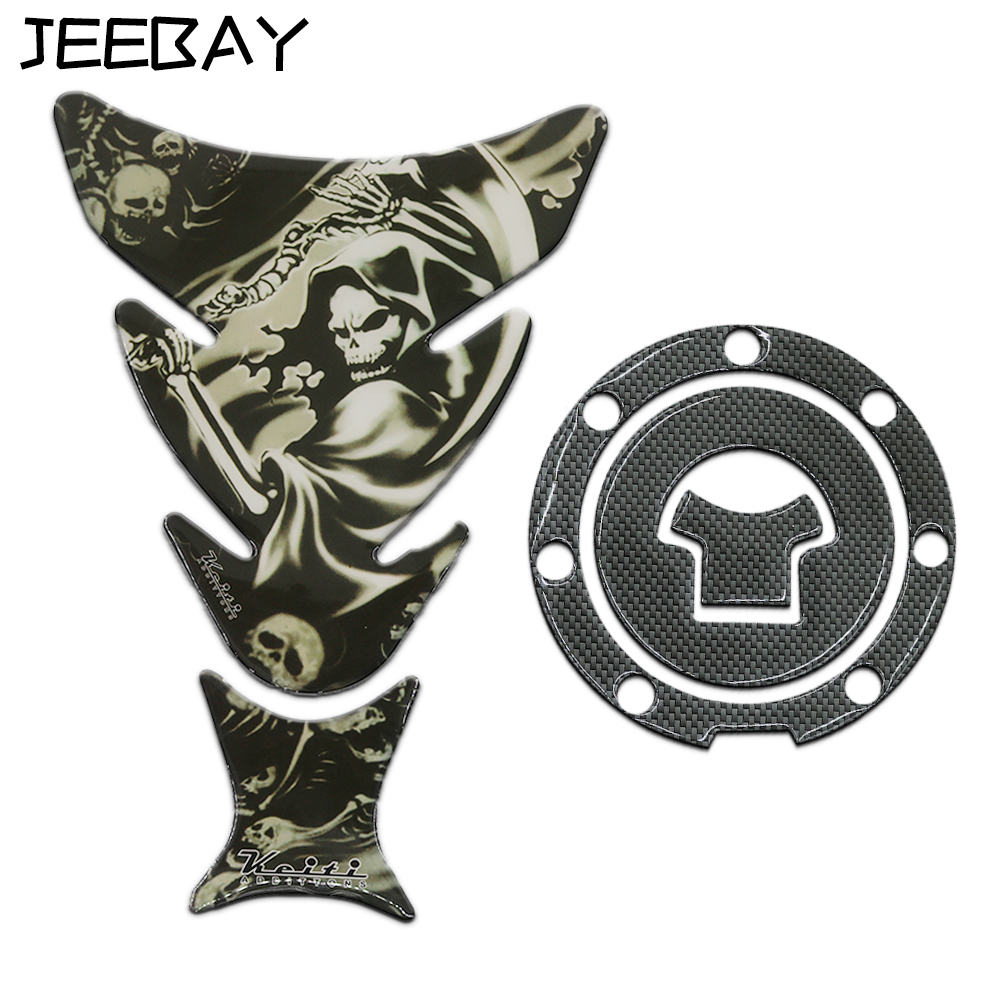 JEEBAYタンクパッド3Dプロテクトタンクオートバイ用フューエルタンクキャップステッカーデカール用CBR VFR CB NSR VTR CBF CBX 125 250 400 600 900 1000руб。