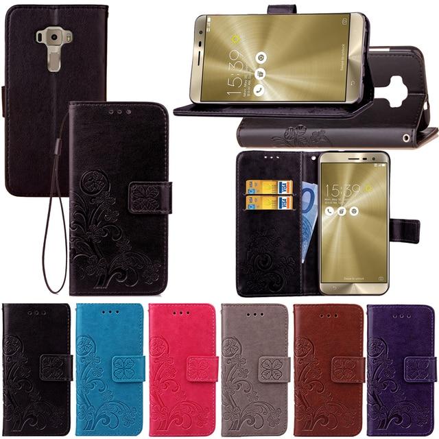 Flip Cover for Asus Z012D Z012DC Z012DB Zenfone 3 ZE552KL ZE ZE552 552 552KL KL Mobile Phone Case For Asus Zenfone 3 ZE552KL
