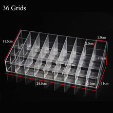 Nail Polish Lipstick Mascara Eyeliner Organizer Storage Display Holder Makeup Tool New Fashion Clear Acrylic Nail Polish Rack(China)