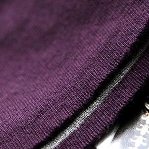 Image 5 - Pull en cachemire pour femmes, Vintage, noir, bleu, pull épais à col roulé, hiver, pull chaud