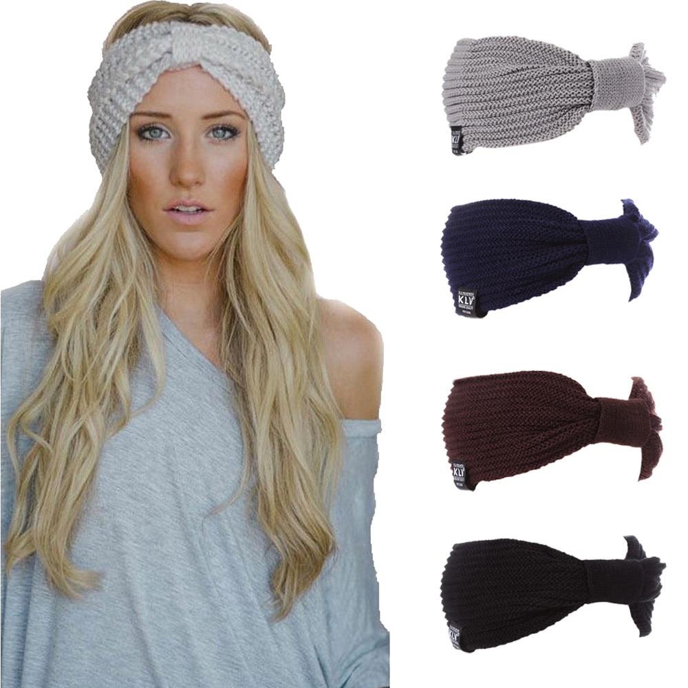 Bonnet turban en laine extensible