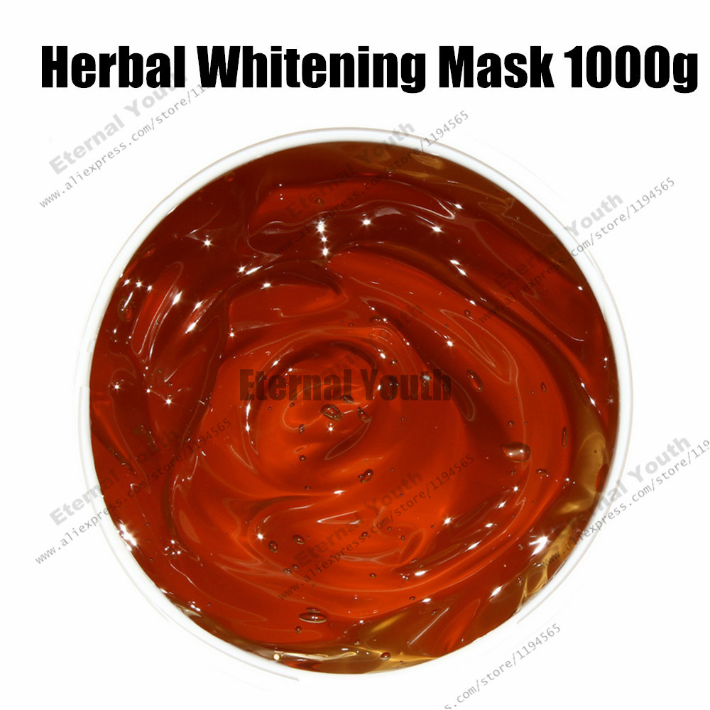 Whitening Mask Chinese Herbal Medicine Moisturizing Skin Care Gel Face Mask Cosmetics Beauty Salon Equipment Wholesale недорого