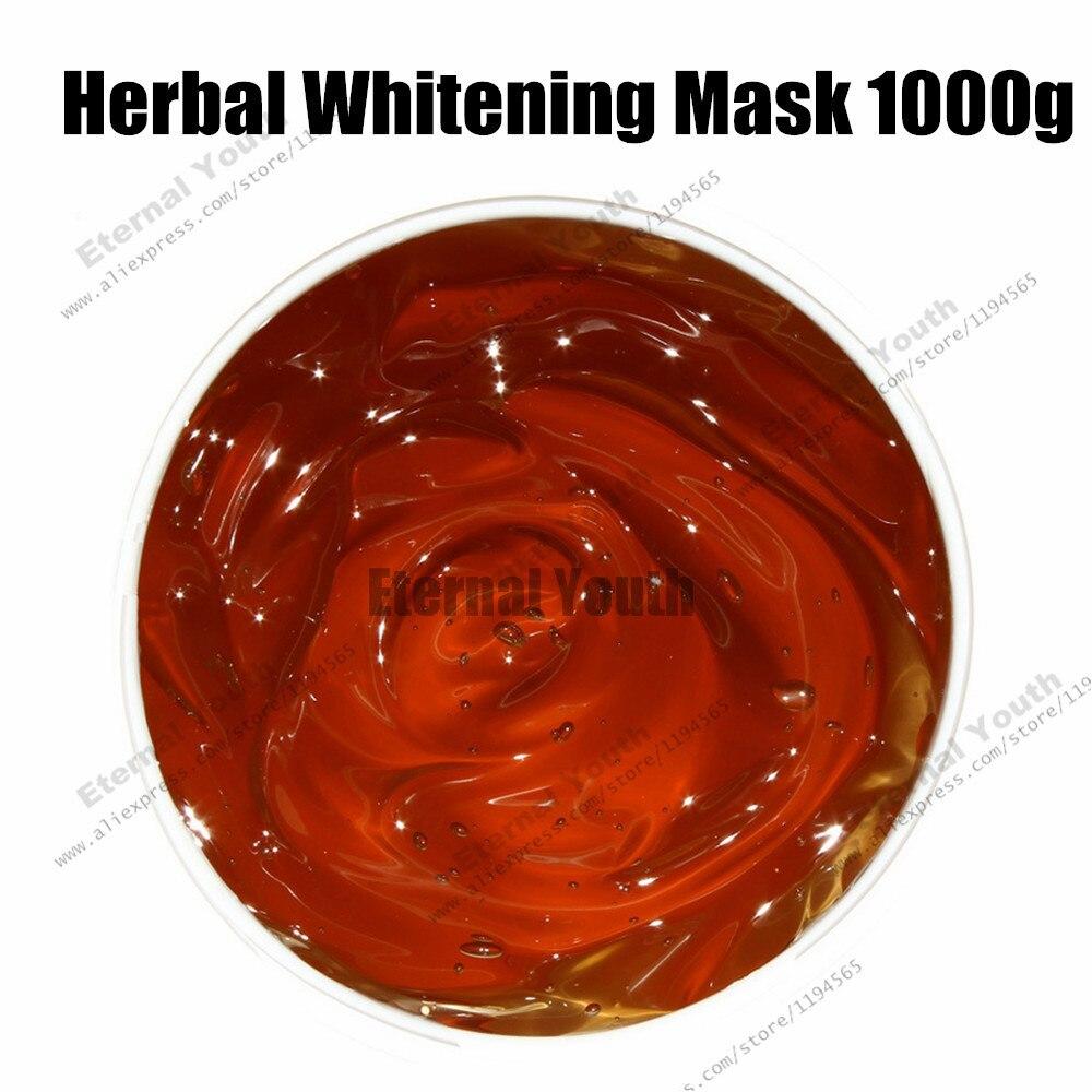 Masque blanchissant phytothérapie chinoise hydratant Gel de soins de la peau masque facial cosmétiques équipement de Salon de beauté en gros