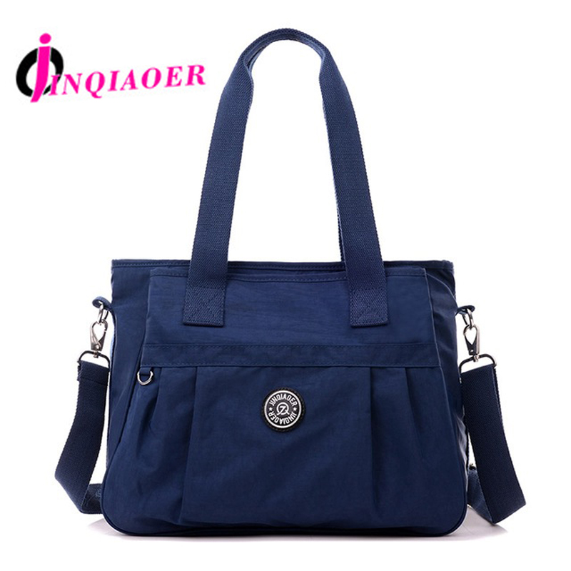 JINQIAOER Women Nylon Bag For Women Shoulder Bags Bolsa Feminina Multi-Function Handbag Tote Bags Brand Crossbody Bag Sac WH352 jinqiaoer woman nylon bag women messenger bags for women handbags shoulder bag large capacity stroller bag bolsa feminina wh392