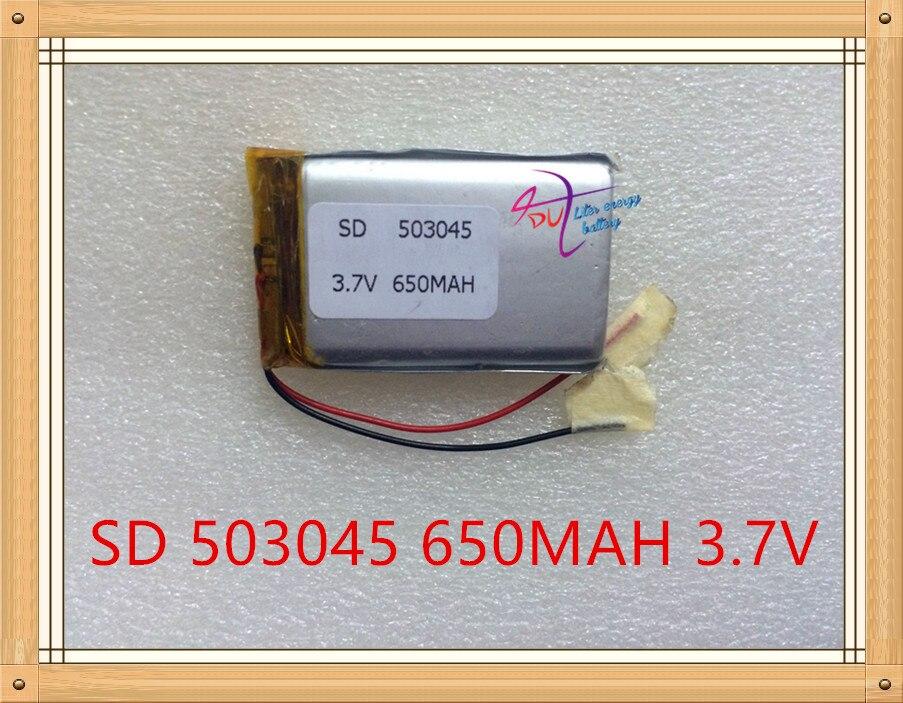 Liter Energy Battery 3.7V Polymer Lithium Battery 503045 053045 MP4 MP5 MP3 Bluetooth Audio 650MAH