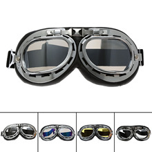 Vintage Motorcycle Glasses Goggles ATV Motocross UV Protection Ski Snowboard Motocross Cycling Eyewear Sport Helmets Goggles