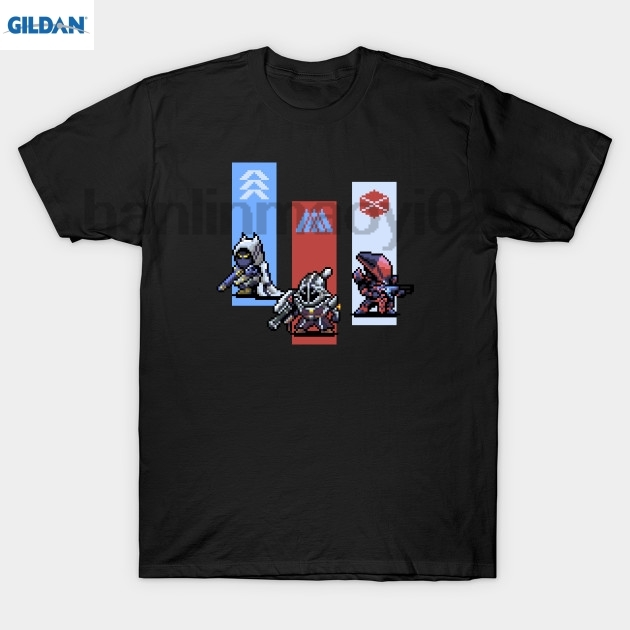 GILDAN Year 3 Guardians Pixel Art T Shirt